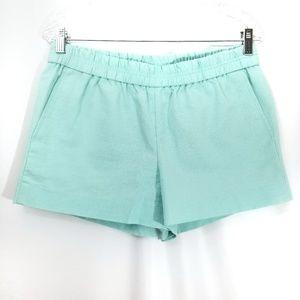 J Crew mint green shorts